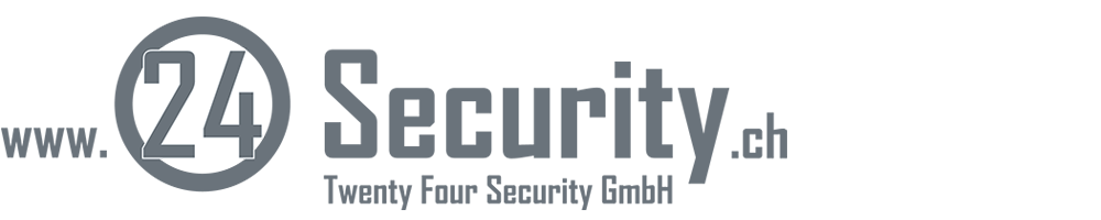 24 Security GmbH | Bielgraben 1 | 4622 Egerkingen | +41 62 295 24 24
